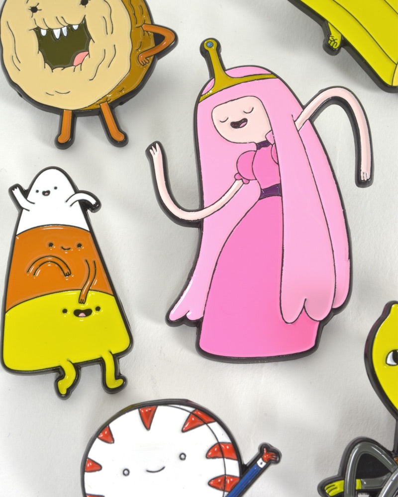 Official Adventure Time Candy Kingdom Pin Badge Set