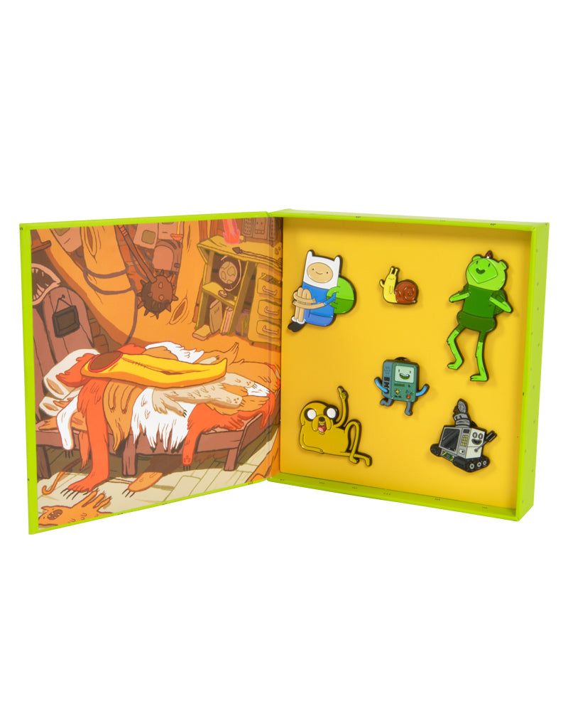 Official Adventure Time Treehouse Pin Badge Set