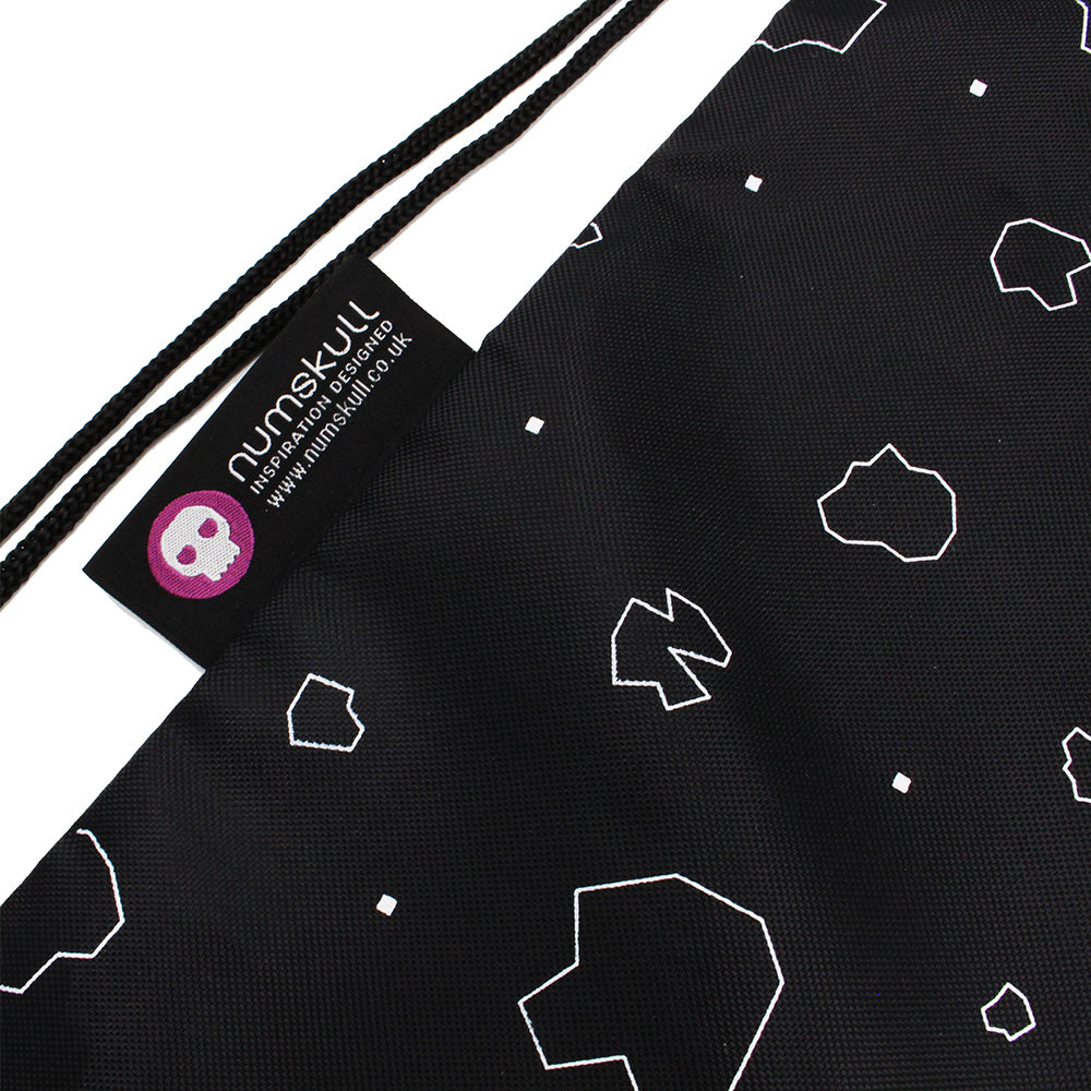 Official Asteroids Gameplay Cinch / Drawstring Bag