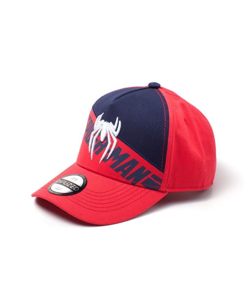 Official Marvel Spiderman PS4 Embroidery Curved Bill Cap