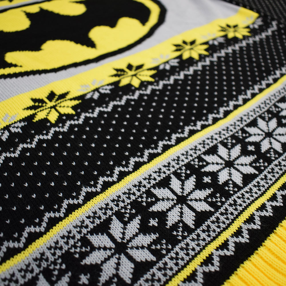 Official Batman Christmas Jumper / Ugly Sweater