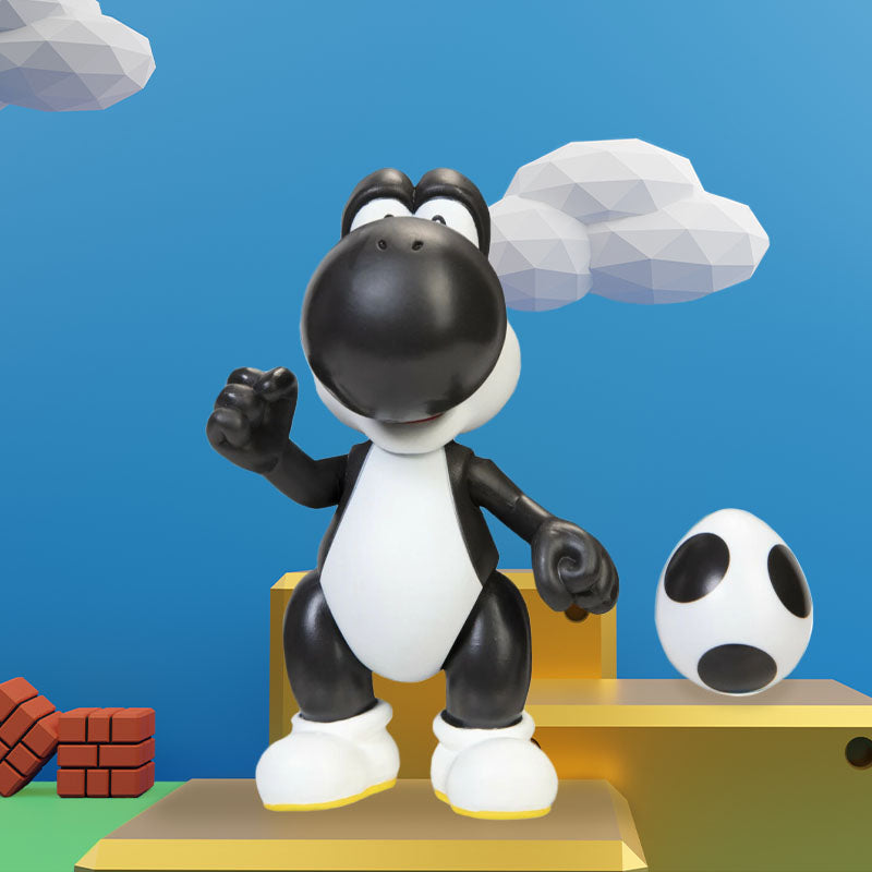 Official Nintendo Super Mario Black Yoshi with Egg