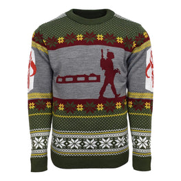 Official Star Wars Boba Fett Nordic Christmas Jumper / Ugly Sweater