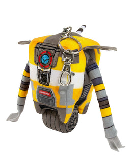 Official Borderlands 3 Claptrap Keyring Plush / Plushie