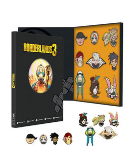 Official Borderlands 3 Collectors Pin Badge Set