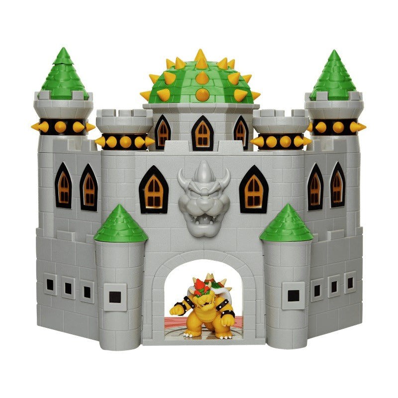 Official Super Mario Bowser Castle Playset 6cm / 2.5