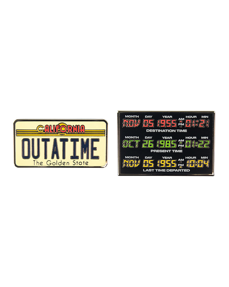 Pin Kings Back to the Future Enamel Pin Badge Set 1.3