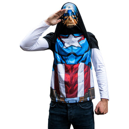 Official Marvel Alter Ego Captain America T-Shirt