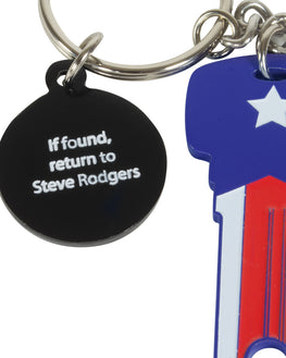 Official Marvel Captain America Key Bottle Opener Keyring