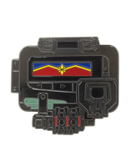 Official Captain Marvel Pager Bottle Opener