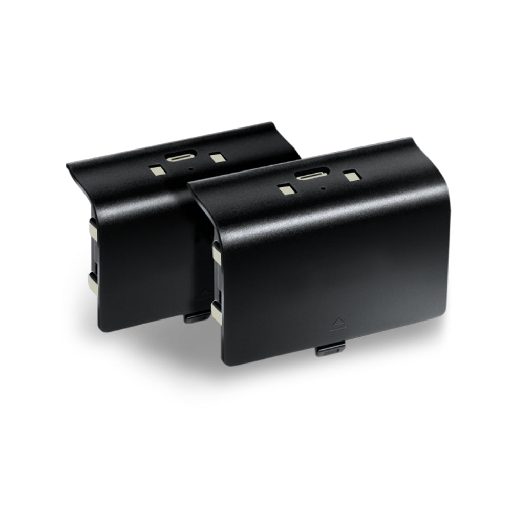 Xbox One Dual Charge Docking Station with 2 Rechargeable Battery Packs with Simultaneous charge