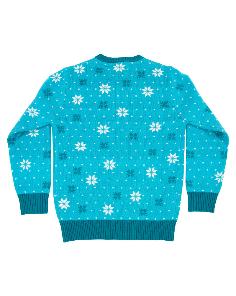 Official DC Comics 'Chillin like a villian' Kids Christmas Jumper / Ugly Sweater