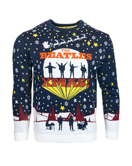 Official The Beatles Ugly Christmas Sweater