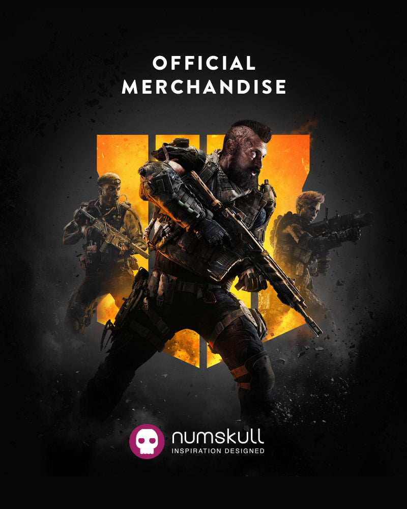 Official Call of Duty Black Ops 4 Medal & Lanyard