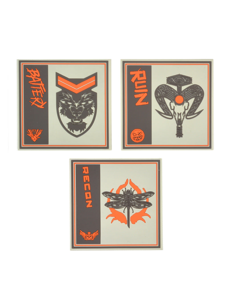 Official Call of Duty Black Ops 4 Silicone Coasters (3 Pack)