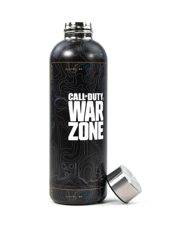 Official Call Of Duty Warzone Metal Drinking Flask