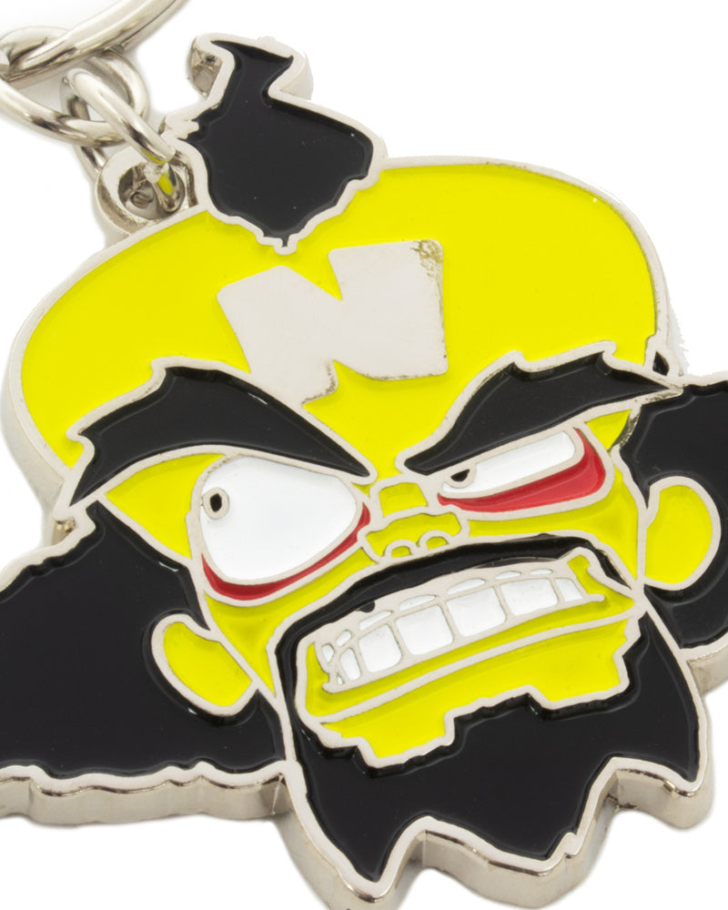 Official Crash Bandicoot Dr Neo Cortex Keyring / Keychain
