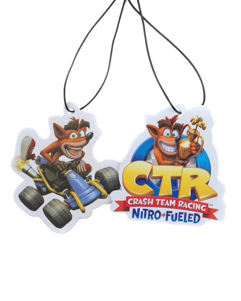 Official Crash Team Racing Nitro-Fueled Car Air Freshener (2 Pack)