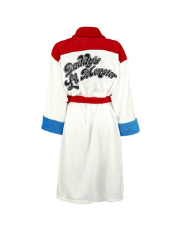 Official Suicide Squad Harley Quinn Women's Dressing Gown / Bathrobe
