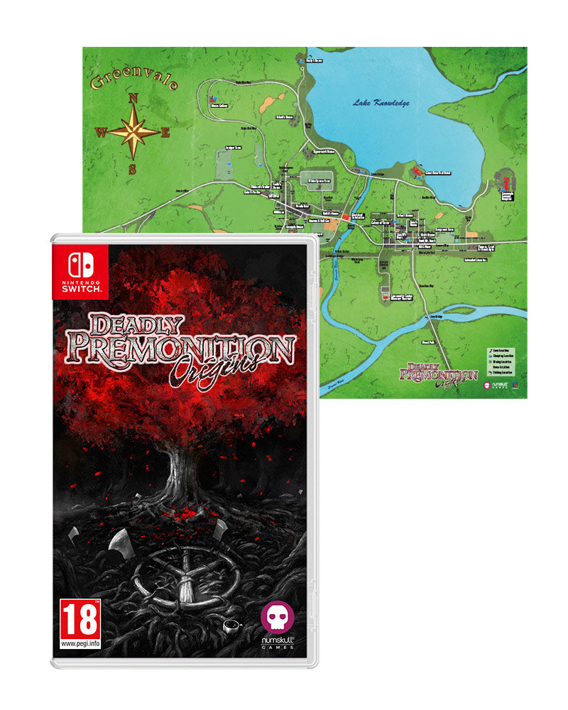 Deadly Premonition: Origins with Map Poster (Nintendo Switch)