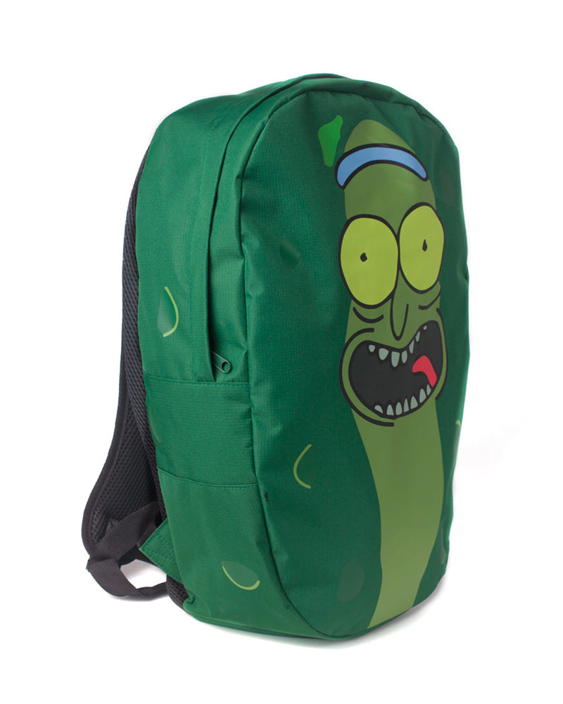 Official Rick and Morty Pickle Rick Shaped Backpack