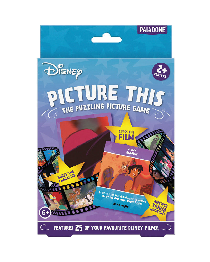 Official Disney Picture This Puzzling Picture Game