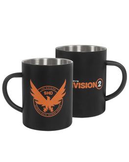 Official Tom Clancy's The Division 2 Phoenix Steel Mug NOT FOR SALE IN UK