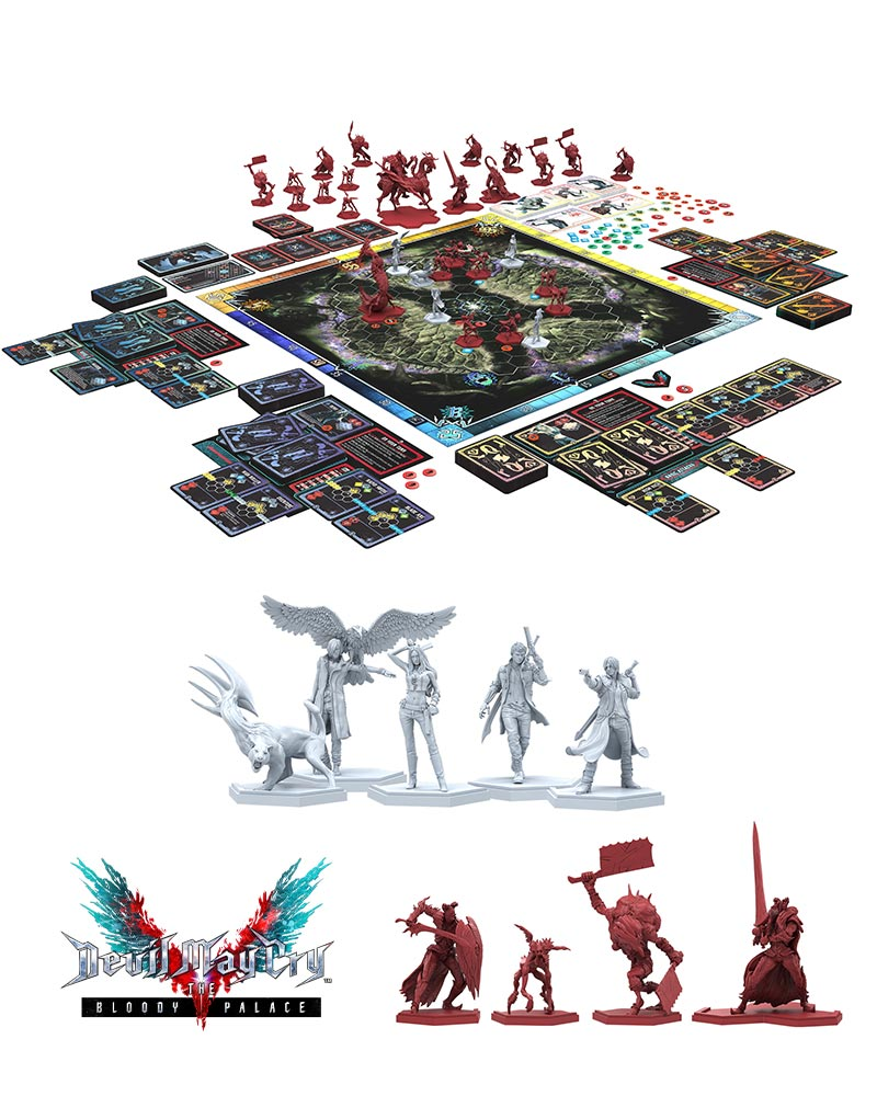 Official Devil May Cry Bloody Palace Boardgame