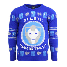 Official Doctor Who Christmas Jumper / Ugly Sweater