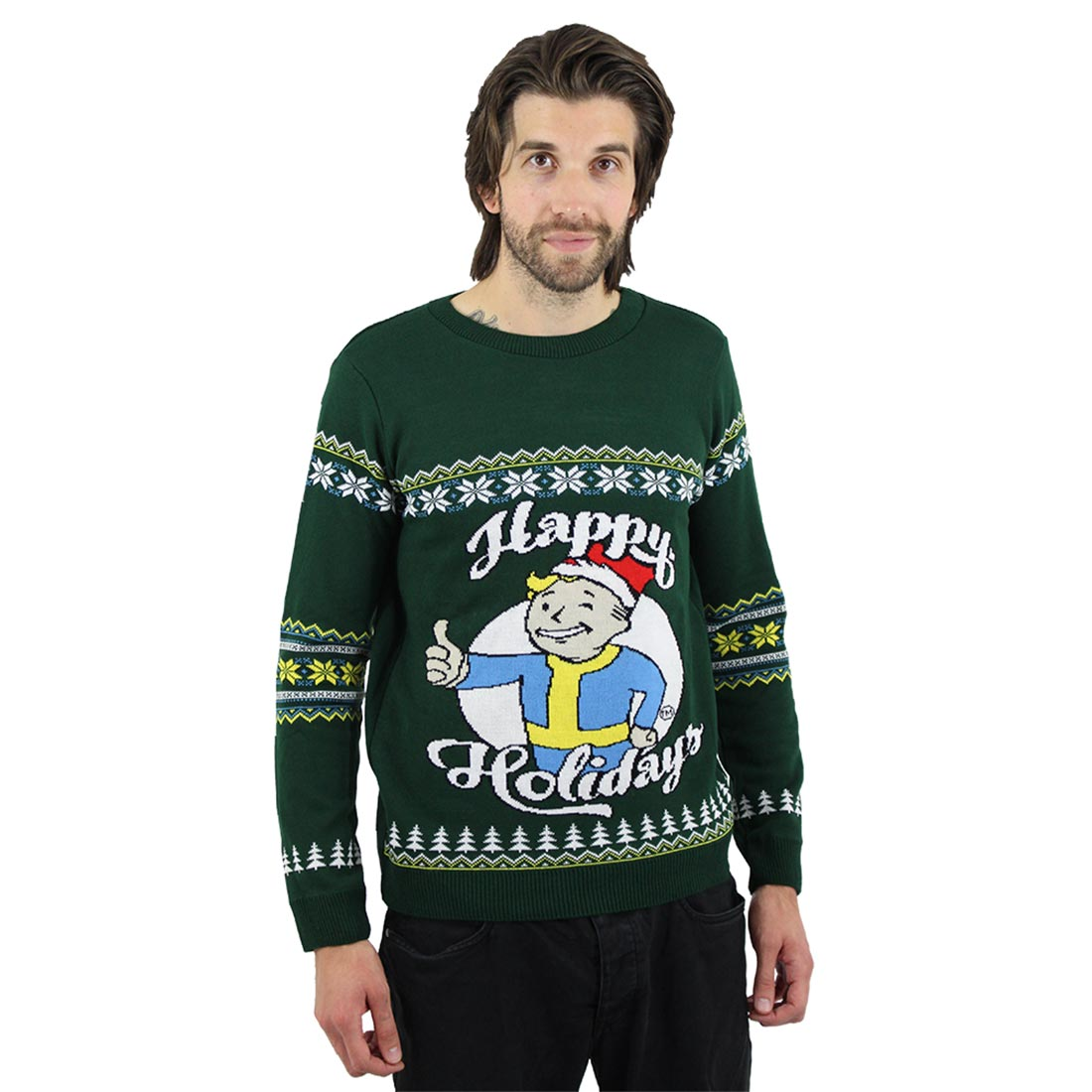 Official Fallout Happy Holidays Christmas Jumper / Ugly Sweater