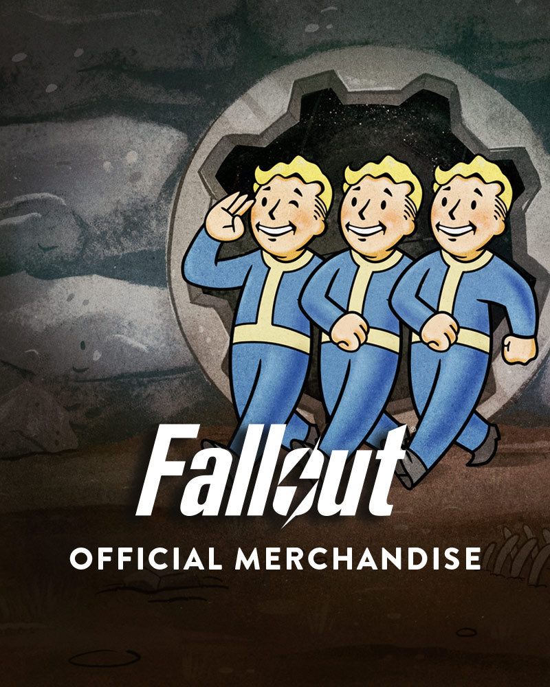 Official Fallout Vault Boy Big Guns Keyring / Keychain