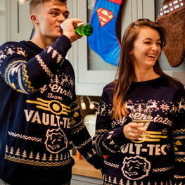 Official Fallout 4 Vault Tec Christmas Jumper / Ugly Sweater