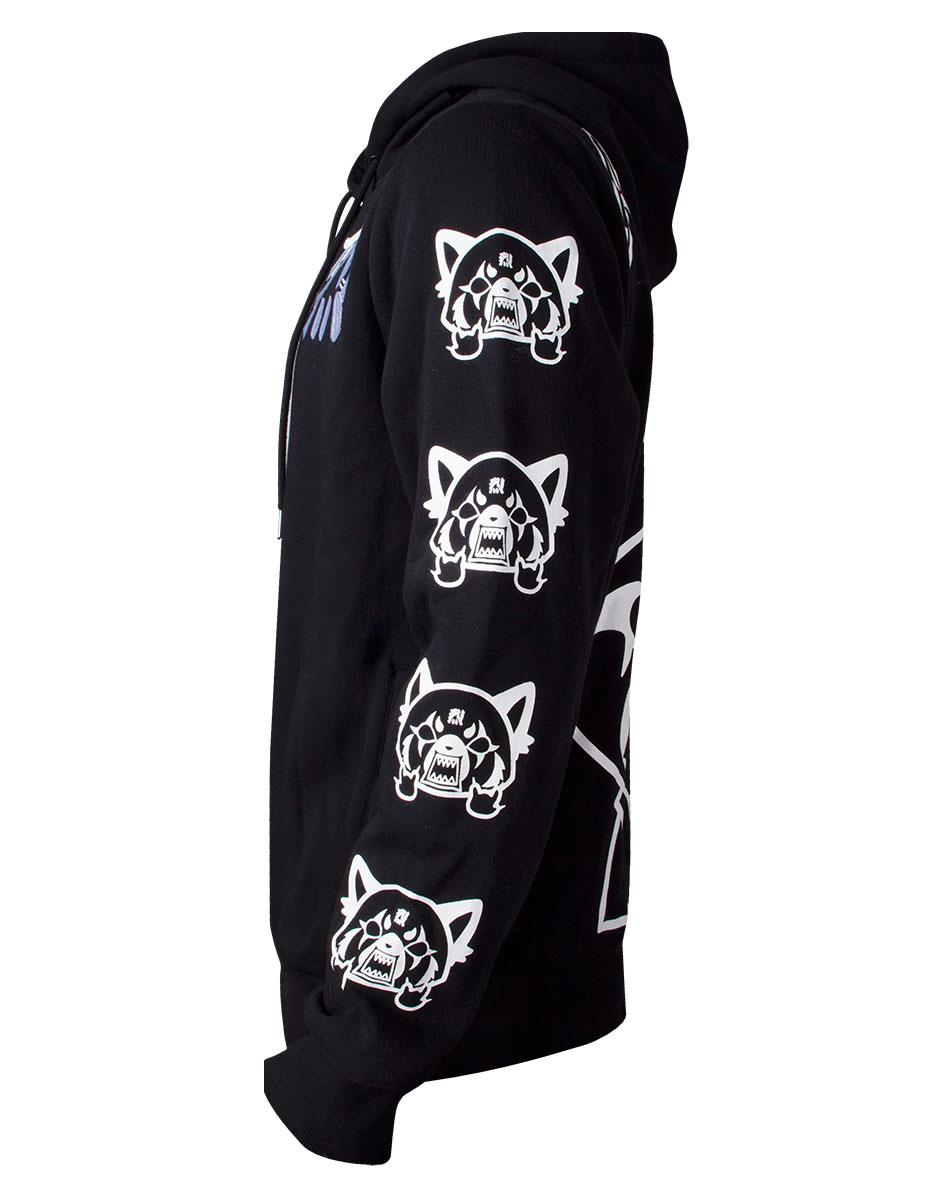 Official Aggretsuko Sleeve Faces Unisex Hoodie