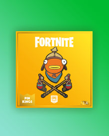 Pin Kings Fortnite Enamel Pin Badge Set 1.4 - Fishsticks