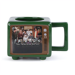 Official Friends: Titles Retro TV - Heat Change Mug