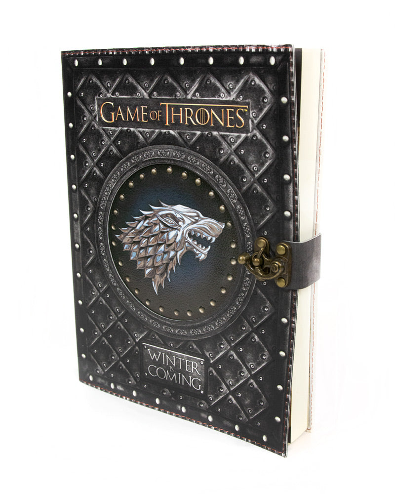 Official Game of Thrones Winter is Coming Large Notebook / Journal