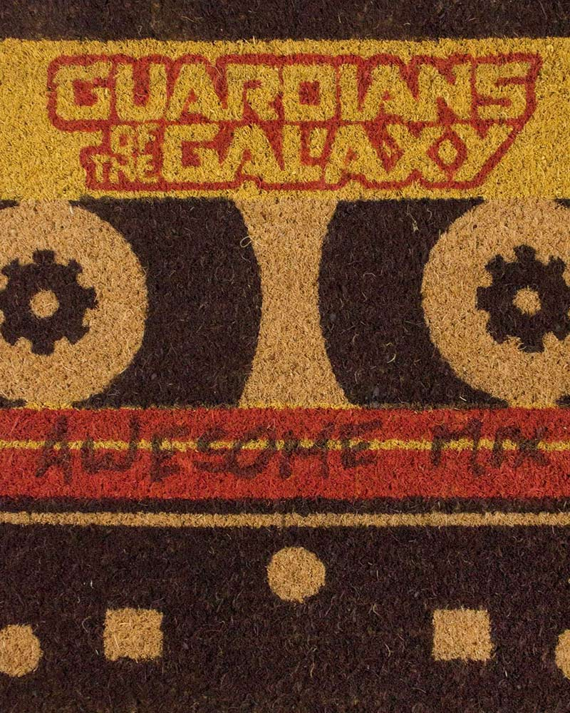 Official Guardians of the Galaxy Awesome Mix Tape Door Mat
