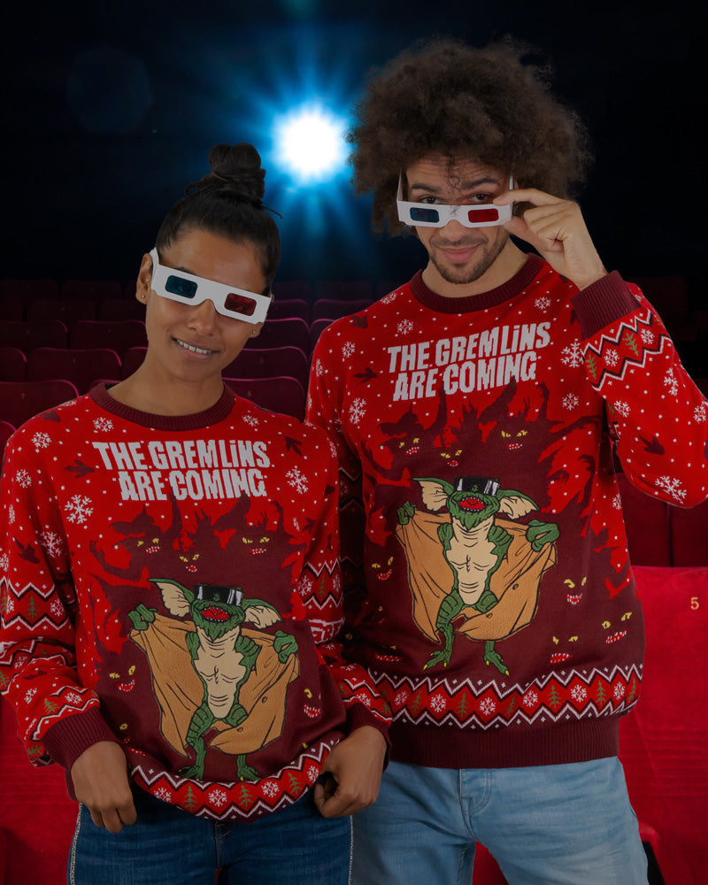 Official Gremlins Ugly Christmas Sweater