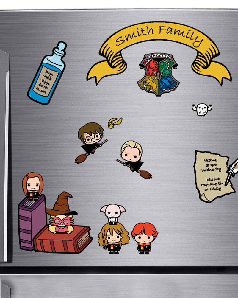 Official Harry Potter Fridge Magnet Set