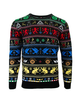 Official Harry Potter Houses Ugly Christmas Sweater