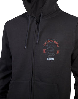 Official Nintendo King of Koopa's Zipper Hoodie