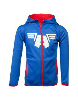 Official Marvel Captain America Kids Tech Hoodie