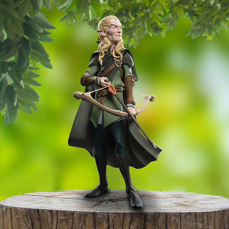 Official Lord of the Rings Legolas Mini Epics Vinyl Figure / Figurine - 12 cm