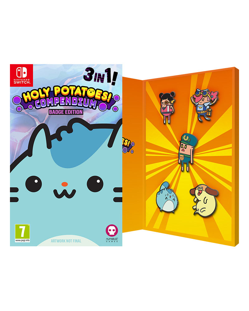 Holy Potatoes Compendium Badge Edition (Nintendo Switch)