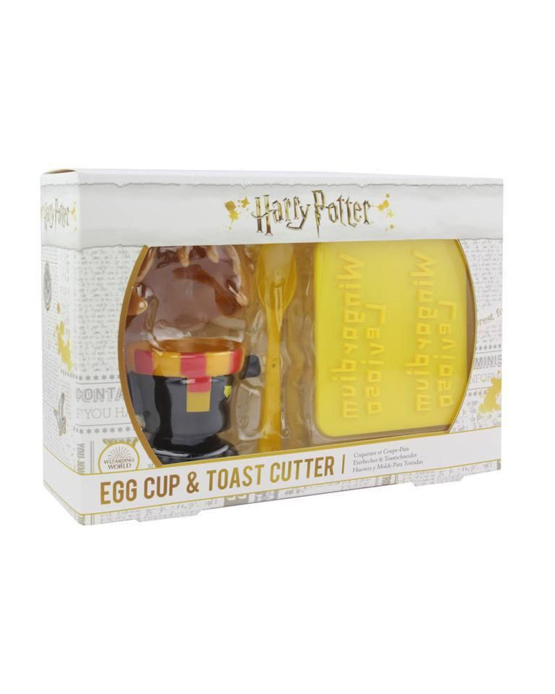 Official Harry Potter Hermione Granger Egg Cup and Toast Stamp Set