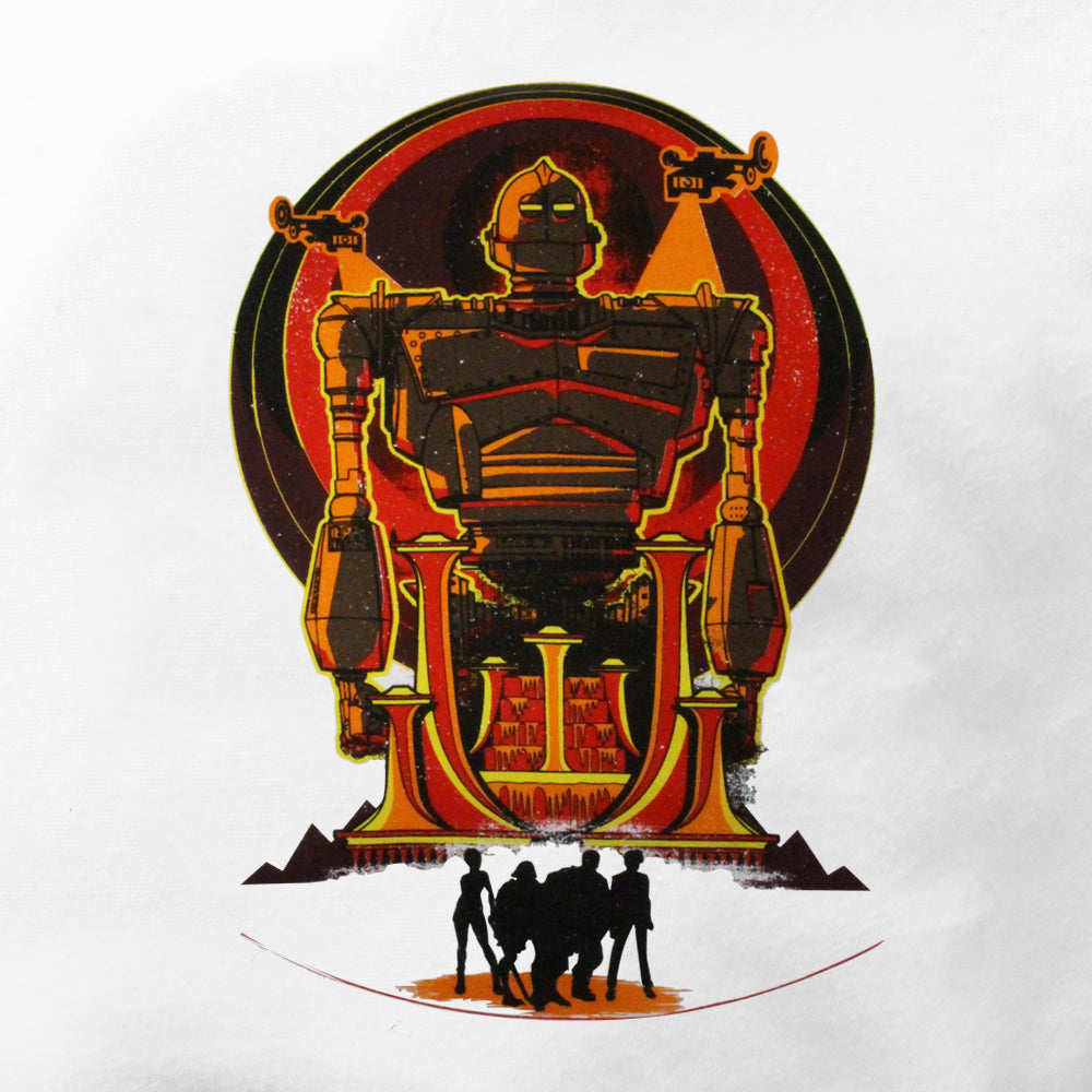 Official Ready Player One Iron Giant Raglan T-Shirt