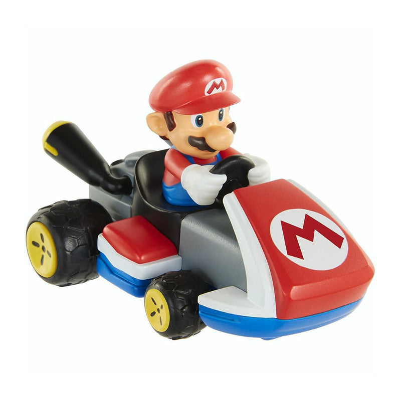 Official Super Mario Mario Kart Power Racers Mario 7cm / 3