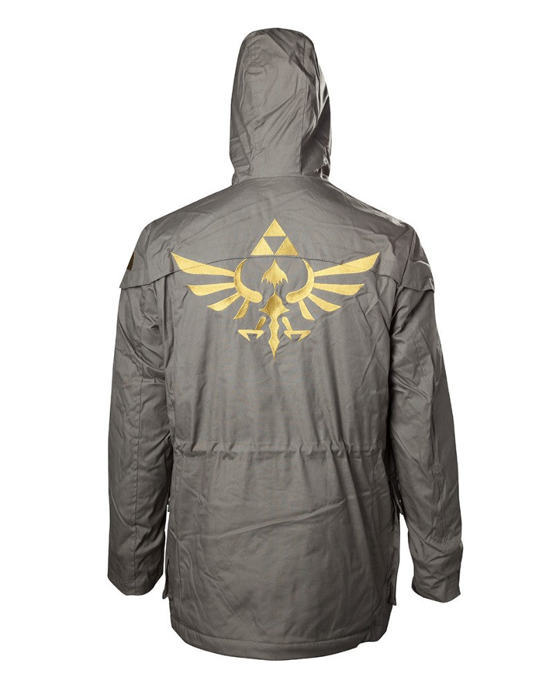 Official Legend of Zelda Triforce Logo Parka