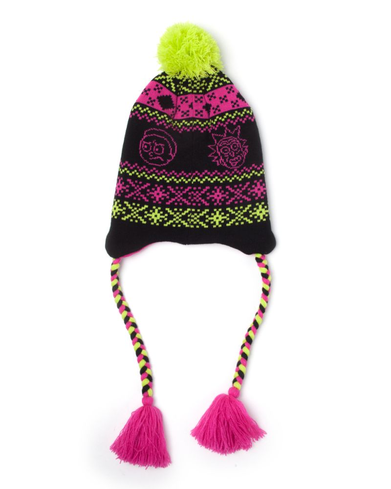 Official Rick and Morty Acid Sherpa Beanie