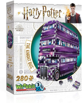 Official Harry Potter Knight Bus Puzzle (280 Pieces)